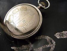 L.U.C. CHOPARD  SILVER POCKET WATCH CASE!!