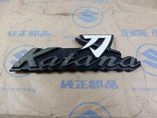 Suzuki TRS TR-S Katana Side Cover Emblem Badge NOS Genuine