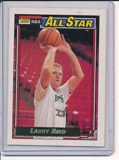 1992/93 TOPPS LARRY BIRD GOLD SP ALL STAR CARD #100