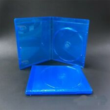 2Pcs Blue Replacement Empty Blu-Ray CD DVD Game Case For Sony PlayStation 4 PS4