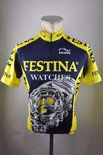FESTINA WATCHES BIEMME CYCLING JERSEY BICICLETTA BIKE Ruota Maglia Taglia L 56cm k1