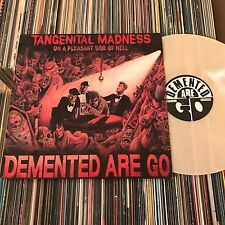 DEMENTED ARE GO TANGENITAL MADNESS Clear Pink Vinyl LP