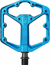 Crank Brothers Stamp 3 Small Pedals: Blue
