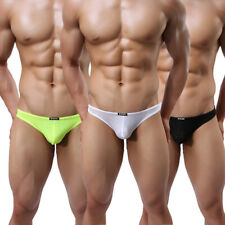 10 Pack Mens String Sexy Lace Thin Transparent Bikini Thongs G-string Underpants