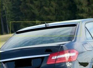 Painted Gloss Black MERCEDES E CLASS W212 AMG LORINZER STYLE ROOF WINDOW SPOILER
