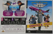 Soul Plane  Snoop Dogg, Tom Arnold, Kevin Hart U.S. promo dvd in original cover