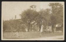 1910 Rppc Rp Postcard Commerical Point Oh/Ohio Presbyterian Church