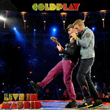 COLDPLAY - LIVE IN MADRID 2011 CD - Limited & Numbered