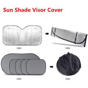 6 Pcs Universal Car Vehicle Windshield Window Sun Shade UV-Proof Sunshade Covers