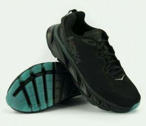Hoka One One Mens Trainers Evelon 2 - Black - Size UK 7.5 Unused