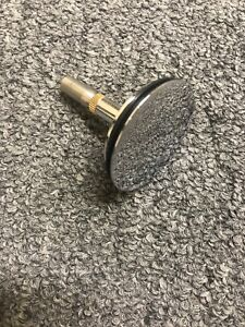 Drain Stopper For Spa Pedicure Nail Chair Chrome Overflow Drain Water