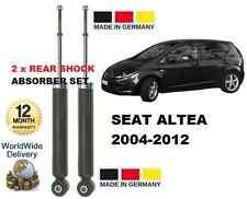 PARA SEAT ALTEA 5P1 04-12 1.2 1.4 1.6 1.8 2.0 2x TRASERO AMOTIGUADORES
