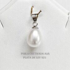 83b9b7c86165 Collares y colgantes de joyería con perlas colgante de plata de ley ...