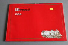 X539 RIVAROSSI Train cataloguedate 1988 130 pages 29,7*21 cm F wagon voiture