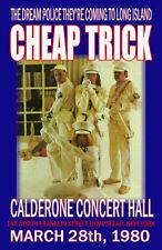 Cheap Trick Replica *Dream Police* 1980 Concert Poster