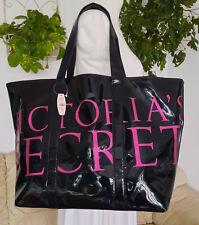 VICTORIAS SECRET xlarge PINK/BLACK shopper/TOTE bag NEW