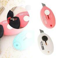 Tragbare Mini Sicherheit Papiermesser Cutter Crafting 70*40mm W8W8 Bürob To F1B3
