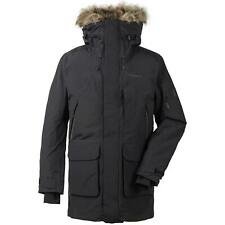 Didriksons Marcel 3 Mens Winter Parka Coat | Black | 240 g/m² Padding