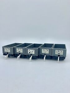 5pc Lot TROUBLESOME TRUCKS Thomas Train Friends Trackmaster TOMY GUC 2002