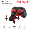 Hubsan H111C X4 Drone 2.4G 4CH RC Quadcopter with 480P HD Camera, LED, RTF Black