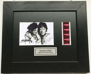 THE ROLLING STONES Mick Jagger & Keith Richards signed reprint