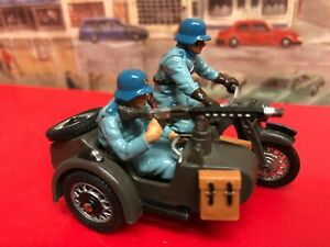 Britains German  BMW Motorcycle and side car die cast model