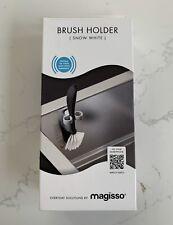 Magisso Magnetic Brush Holder Scandinavian Danish Kitchen Sink Accessory