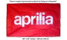 FREE US SHIP Big New Aprilia Red logo Flag motorcycle 3x5 feet banner rsv tuono