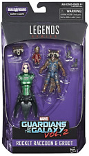 MARVEL LEGENDS GUARDIANS OF THE GALAXY VOL 2 ROCKET & GROOT FIGURE BAF MANTIS