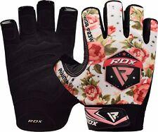 Rdx guantes gimnasio mujer fitness Musculacion Gym chica Halterofilia Gloves es blanco S