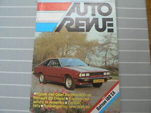 AUTOREVUE 1979 NO 25 TEST DATSUN 180 SX,OPEL ASCONA 400 RALLYCAR,MIKKOLA,ETV 1