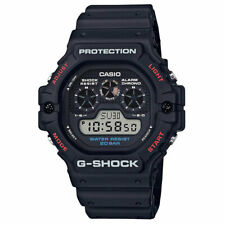 Casio G-Shock Uomo Digitale DW5900-1 Japan-Automatic Resina Orologio Nero Timepi