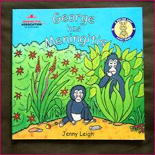 Kids Story BOOK - GEORGE HAS MENINGITIS - Dr Spot Case 32pg full colour - NEW