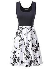 KIRA Midi Dress Women's Size Small Scoop Neck Sleeveless A-line Cocktail NEW
