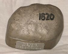 * Cast Metal Plymouth Rock Coin Bank - Advertising Home State Bank. - 1921 Nice