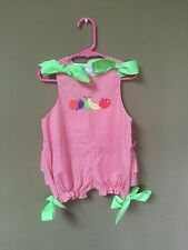 The Bailey Boys Infant Girls Multicolor Romper Size 24M