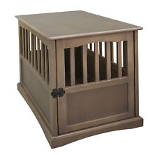 Casual Home Wooden Pet Crate Dog House End Table Night Stand (Open Box)