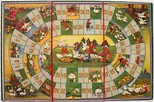 Spielbrett GÄNSESPIEL J. W. Spear & Söhne. Board game The game of goose, gioco