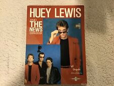 Huey Lewis and The News Songbook - Piano Vocal Guitar *Good Condition*
