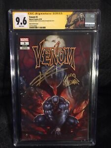 Venom # 3 Skan Variant CGC Knull First Appearance SS Cates And Stegman