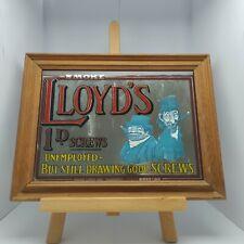 More details for smoke lloyds cigarette advertising mirror vintage please read description