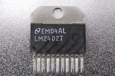 National LM2402T Monolithic Triple 3ns CRT Driver
