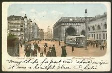 Tyne & Wear. Newcastle-on-Tyne. The Central Station. 1903 Undivided Postcard