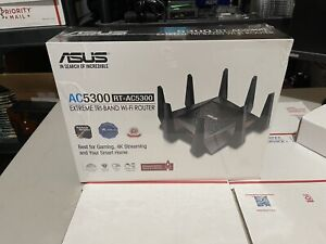ASUS RT-AC5300 AC5300 Tri-Band WiFi Gaming Router, MU-MIMO FEDEX 2DAY Ship