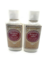 bath and body works christmas cookies body lotion set of 2
