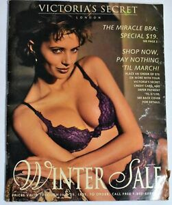Victoria's Secret Winter Sale 1994-1995 VS Catalog Stephanie Seymour