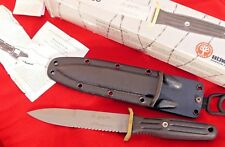 Boker Germany Applegate-Fairbairn A-F 544S Fixed Blade Knife & Sheath