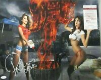 Brittney Palmer Signed 16x20 UFC Model Photo Autographed COA JSA  Celeste