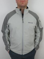 Marmot Gray Gravity Soft Shell Fleece Jacket Mens XL Full Zip Winter Coat Ski