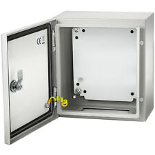 Vevor Steel Electrical Box Electrical Enclosure Box 12x12x6 Carbon Steel Ip65